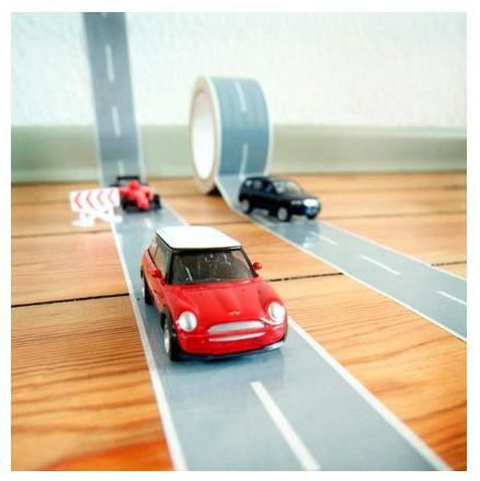Autobahn floor tape